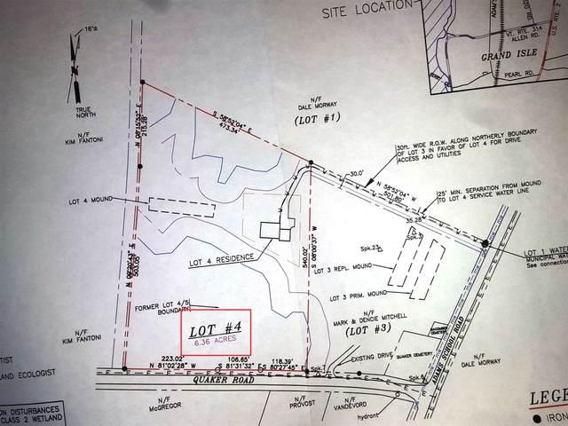 74 Adams School Road Lots 4 & 6, Grand Isle, VT 05458 (MLS #4804772) :: The Hammond Team