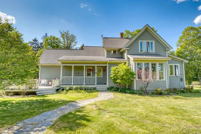 270 Old West Church Road, Calais, VT 05648 (MLS #4807916) :: Keller Williams Coastal Realty