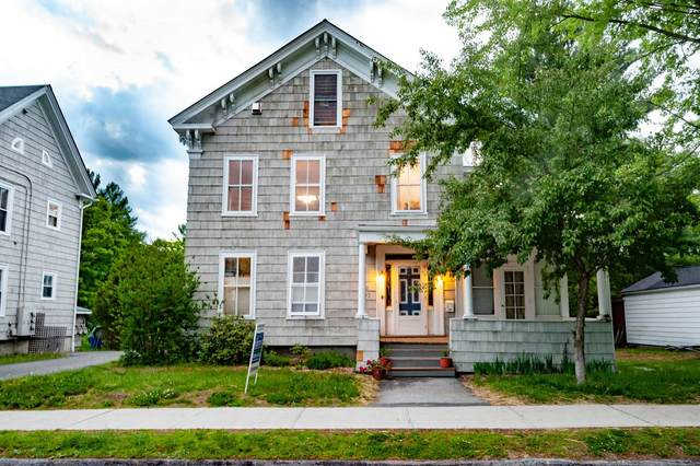 60 College Street #2, Montpelier, VT 05602 (MLS #4808555) :: Hergenrother Realty Group Vermont
