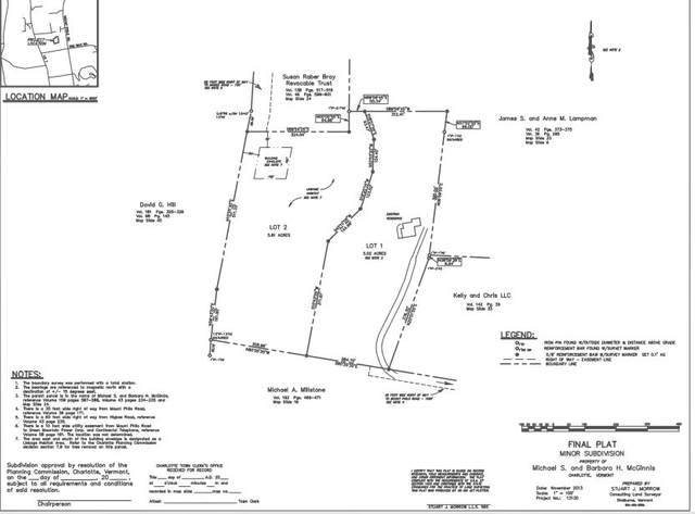 Lot 2 Higbee Road, Charlotte, VT 05445 (MLS #4815288) :: The Gardner Group