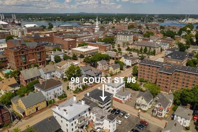 98 Court Street #6, Portsmouth, NH 03801 (MLS #4820234) :: Keller Williams Coastal Realty