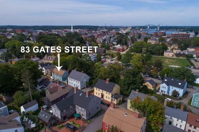 83 Gates Street A, Portsmouth, NH 03801 (MLS #4820250) :: Keller Williams Coastal Realty