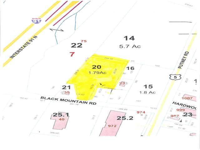 Lot 705.20 Black Mountain Road Lot 705.20, Brattleboro, VT 05301 (MLS #4825627) :: Lajoie Home Team at Keller Williams Gateway Realty
