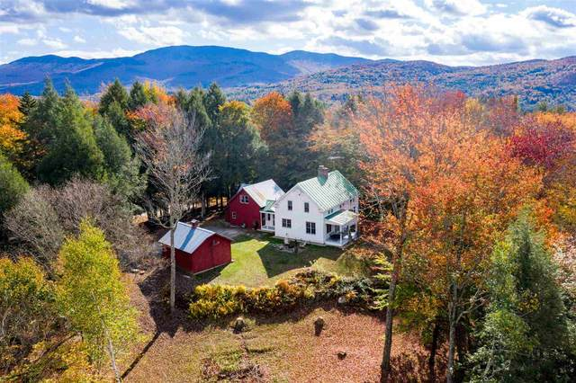 525 West Shaw Hill Road, Stowe, VT 05672 (MLS #4834613) :: Hergenrother Realty Group Vermont