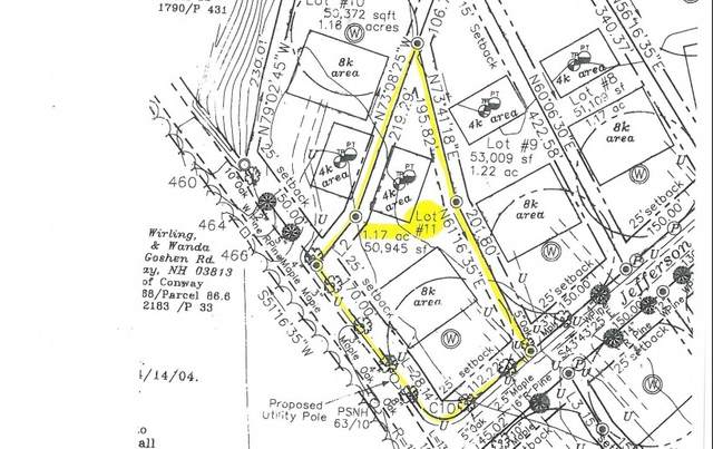 0 Jefferson Road Lot #11, Conway, NH 03813 (MLS #4834869) :: Signature Properties of Vermont