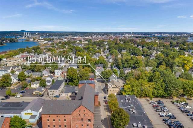 85 Albany Street #4, Portsmouth, NH 03801 (MLS #4837561) :: Keller Williams Coastal Realty