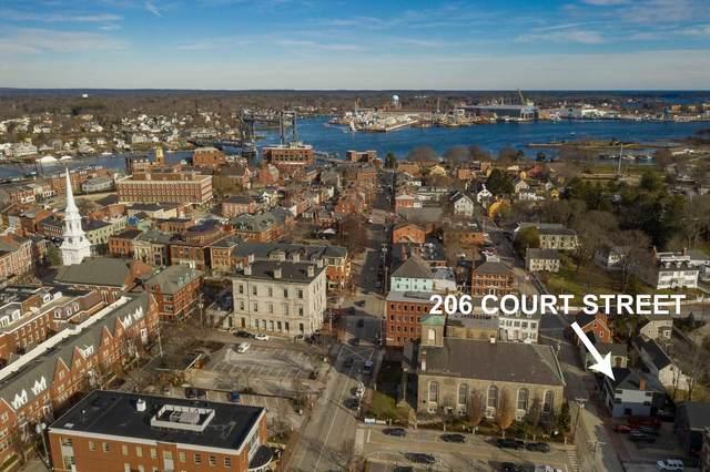 206 Court Street, Portsmouth, NH 03801 (MLS #4844500) :: Keller Williams Coastal Realty