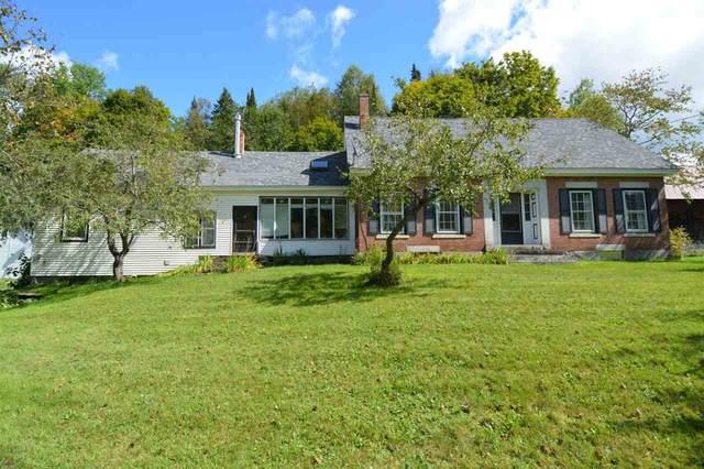 3171 Brook Road, Plainfield, VT 05667 (MLS #4848770) :: Lajoie Home Team at Keller Williams Gateway Realty