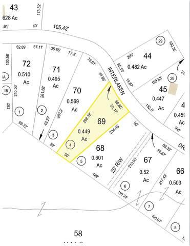 Lot 69 Interlaken Drive, New Durham, NH 03855 (MLS #4853538) :: Team Tringali