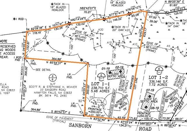 Lot 1-1 Sanborn Road 1-1, Hampton Falls, NH 03844 (MLS #4855697) :: Cameron Prestige