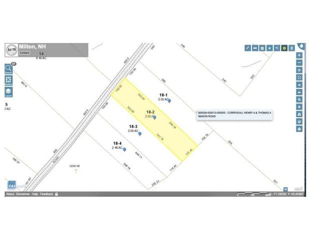 Lot 2 - 164 Mason Road #2, Milton, NH 03851 (MLS #4858762) :: Keller Williams Realty Metropolitan