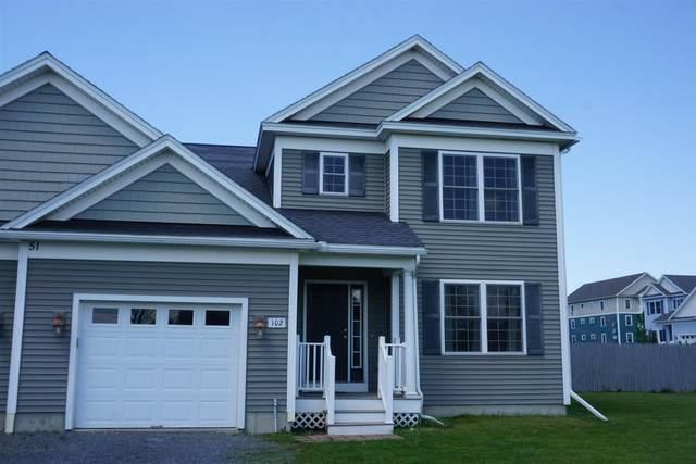51 Old Academy Street #102, Fairfax, VT 05454 (MLS #4861397) :: Signature Properties of Vermont