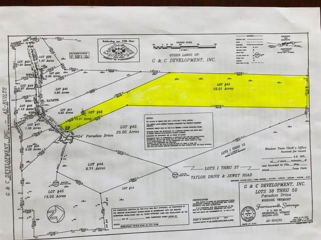 42 Paradise Drive, Windsor, VT 05089 (MLS #4871430) :: Signature Properties of Vermont