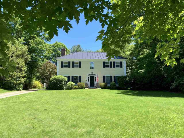 352 Main Street, Norwich, VT 05055 (MLS #4756770) :: Hergenrother Realty Group Vermont