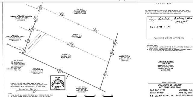 0 Off Jones Hill Road, Enfield, NH 03748 (MLS #4776870) :: Keller Williams Coastal Realty