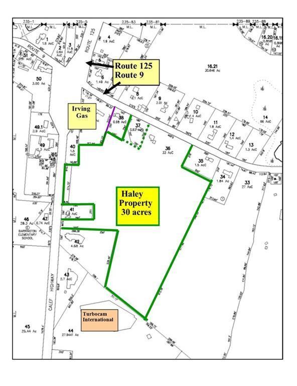 Route 125 Calef Highway, Barrington, NH 03825 (MLS #4681879) :: Lajoie Home Team at Keller Williams Realty
