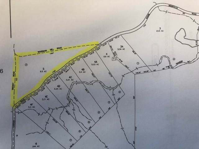 tbd Hanson Road #5, Brookfield, NH 03872 (MLS #4794123) :: Hergenrother Realty Group Vermont