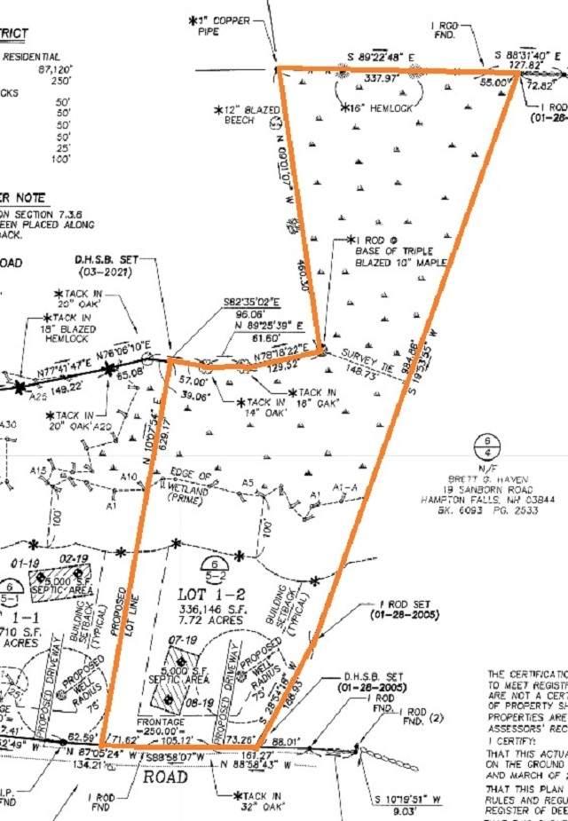 Lot 1-2 Sanborn Road 1-2, Hampton Falls, NH 03844 (MLS #4855699) :: Cameron Prestige