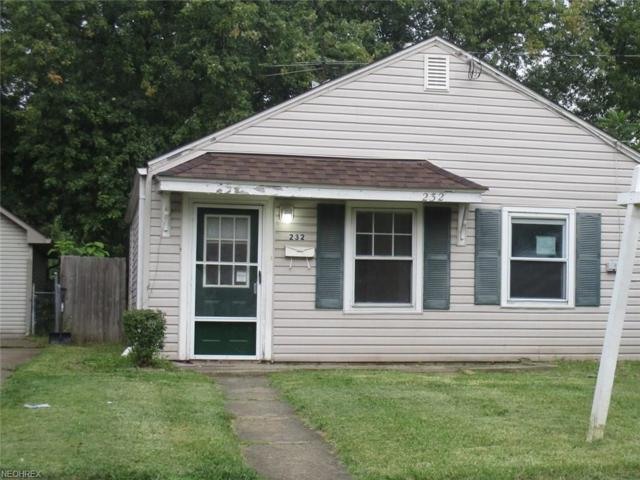 232 Jackson Ave, Elyria, OH 44035 (MLS #3943054) :: The Crockett Team, Howard Hanna