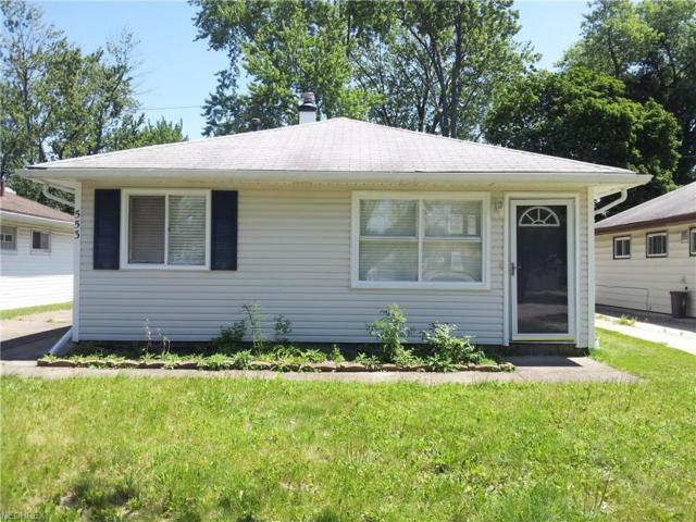 553 Northfield Rd, Bedford, OH 44146 (MLS #3961347) :: The Kaszyca Team