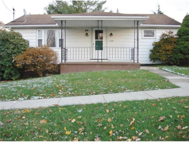 768 Lincoln Ave NW, Carrollton, OH 44615 (MLS #3961748) :: RE/MAX Edge Realty