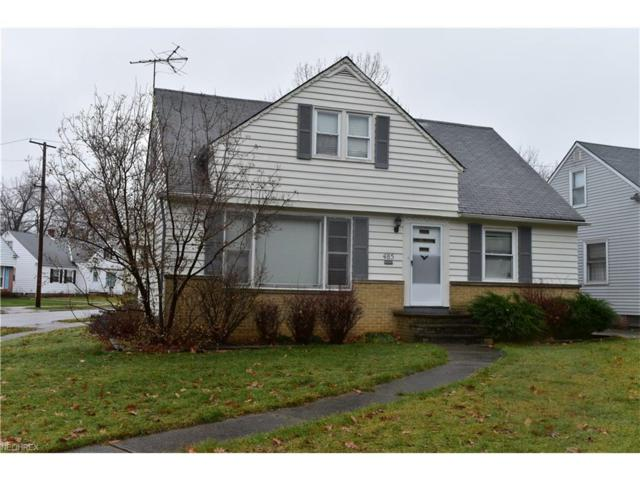 485 Greenvale Rd, South Euclid, OH 44121 (MLS #3966378) :: RE/MAX Edge Realty