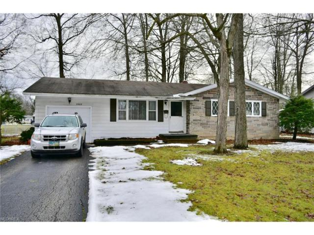 3869 Bryant Dr, Austintown, OH 44511 (MLS #3968474) :: RE/MAX Valley Real Estate