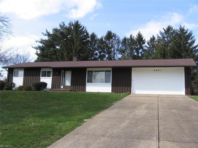 4891 Echovalley St NW, North Canton, OH 44720 (MLS #3987075) :: Keller Williams Chervenic Realty