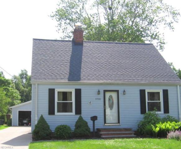 1731 Edgefield Rd, Lyndhurst, OH 44124 (MLS #4008292) :: The Crockett Team, Howard Hanna