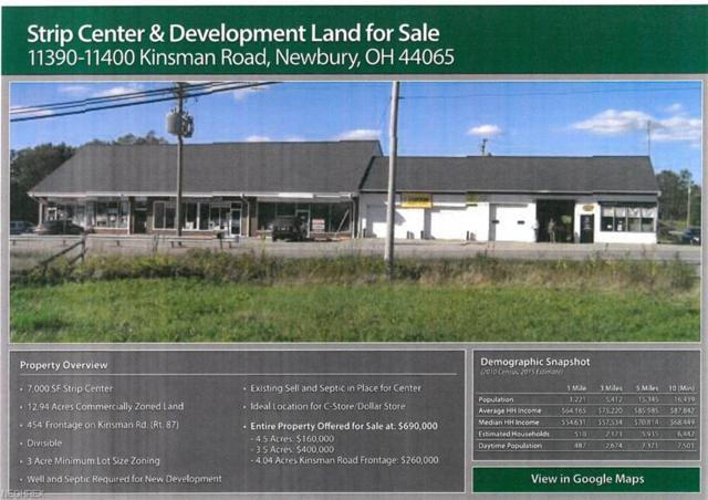 11390-11400 Kinsman Rd, Newbury, OH 44065 (MLS #4008793) :: Keller Williams Chervenic Realty