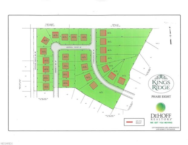Lot #221 Ashwell Court, Green, OH 44685 (MLS #4012208) :: RE/MAX Pathway