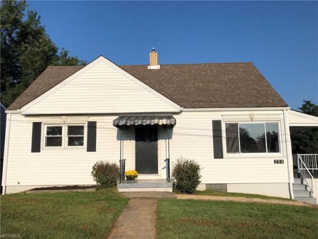 203 Leonard Ave, Wintersville, OH 43953 (MLS #4032500) :: Keller Williams Chervenic Realty