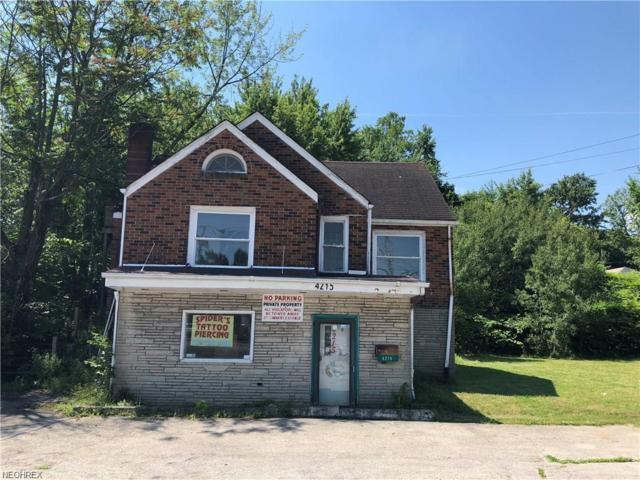 4215 Mahoning Ave, Youngstown, OH 44515 (MLS #4038536) :: The Crockett Team, Howard Hanna