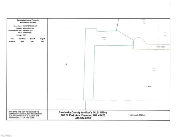 4.987 ac V/L Bark Creek Drive, Fremont, OH 43420 (MLS #4045049) :: The Art of Real Estate