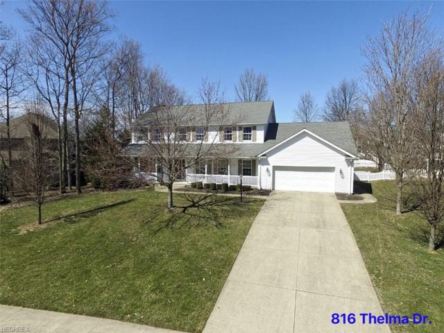 816 Thelma Dr, Wadsworth, OH 44281 (MLS #4046432) :: RE/MAX Trends Realty