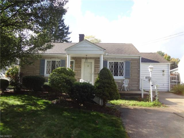 1853 Monticello Ave NW, Warren, OH 44485 (MLS #4047256) :: RE/MAX Valley Real Estate