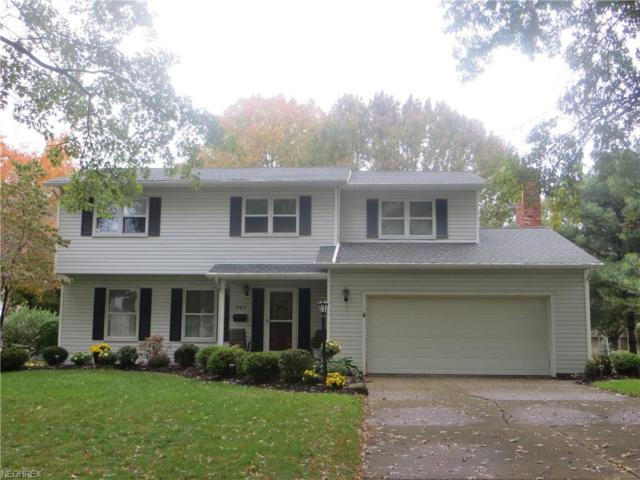 583 Mcentee Dr, Wadsworth, OH 44281 (MLS #4049035) :: The Crockett Team, Howard Hanna