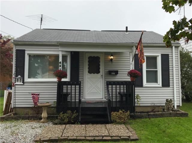 651 E Huston St, Barberton, OH 44203 (MLS #4052694) :: RE/MAX Edge Realty