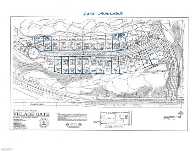 Lot #15  6988 Village Way Dr, Hiram, OH 44234 (MLS #4052841) :: RE/MAX Edge Realty