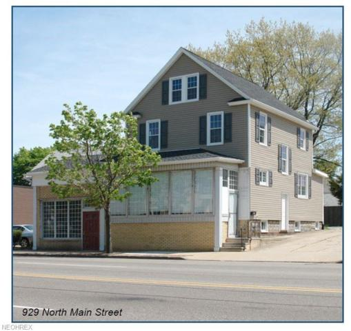 929 N Main St, Akron, OH 44310 (MLS #4055337) :: The Crockett Team, Howard Hanna