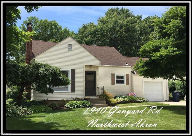 1940 Ganyard Rd, Akron, OH 44313 (MLS #4058009) :: The Crockett Team, Howard Hanna