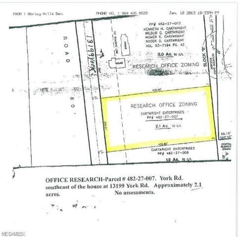 York Rd, North Royalton, OH 44133 (MLS #4061941) :: RE/MAX Edge Realty
