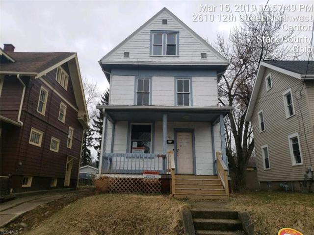 2612 12th St NW, Canton, OH 44708 (MLS #4078045) :: RE/MAX Edge Realty