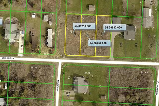 Lots 100-102 Orchard, Kelleys Island, OH 43438 (MLS #4093387) :: RE/MAX Valley Real Estate