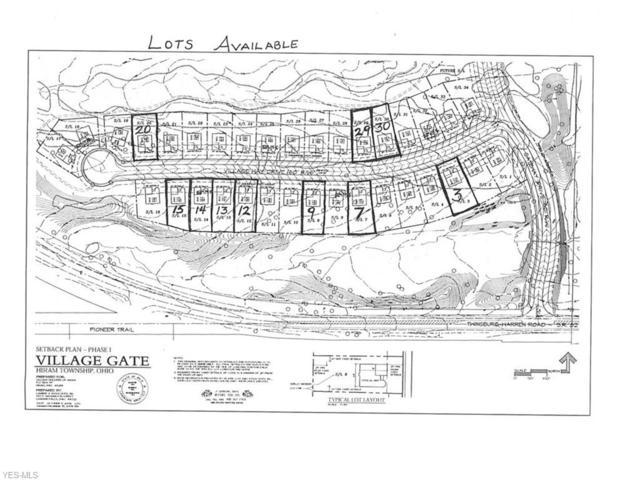 Lot #15  6988 Village Way Dr, Hiram, OH 44234 (MLS #4097950) :: RE/MAX Valley Real Estate