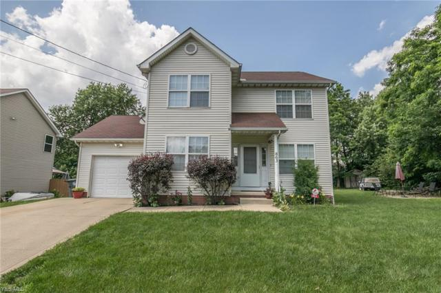 863 Rosamond Avenue, Akron, OH 44307 (MLS #4111096) :: The Crockett Team, Howard Hanna