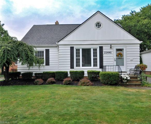 21441 Cromwell Avenue, Fairview Park, OH 44126 (MLS #4117516) :: RE/MAX Edge Realty