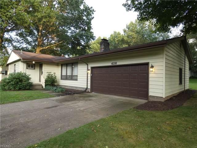 426 Beryl Drive, Kent, OH 44240 (MLS #4125560) :: The Crockett Team, Howard Hanna