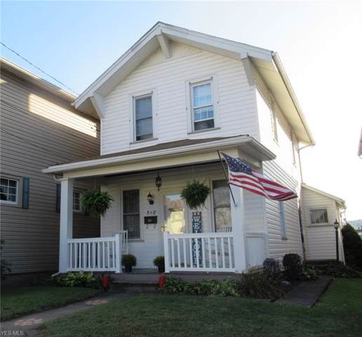 318 9th Street, Wellsville, OH 43968 (MLS #4134991) :: The Crockett Team, Howard Hanna