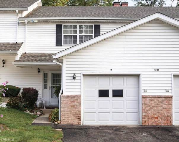 1781 Rolling Hills Drive D, Twinsburg, OH 44087 (MLS #4135122) :: RE/MAX Pathway